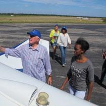 Fluggastwechsel auf dem Vorfeld, Foto: F.Elster