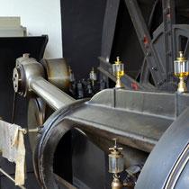 Doppeltrommel-Dampffördermaschine, Baujahr 1913