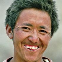 Mann in Ladakh, Indien