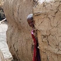 Massai-Mädchen, Tansania
