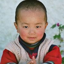 Junge in Ladakh, Indien