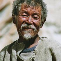 Mann in Mustang, Nepal