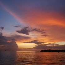 Sonnenuntergang, Florida, Key West