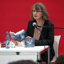 Auf der Lesebühne der Leipziger Buchmesse 2016