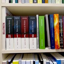 Die Bände 1 bis 4 der Nicolae-Saga im neuen Cover auf der Leipziger Buchmesse 2016
