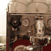 Espresso fachmännisch gebraut