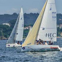 Sopra accompagne l'équipe J80 de HEC depuis 2013