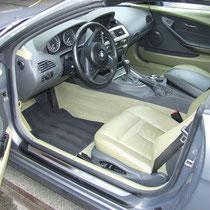 gereinigd schoongemaakt autointerieur met leder/leer | A1 Car Cleaning