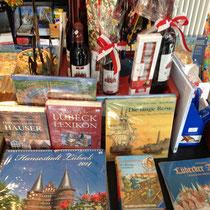 Lübeck Literatur, Wein und Marzipan.