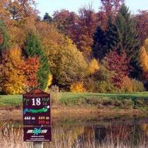 Golfplatz von Mâcon-La-Salle, 18 und 9 Löcher, Hdp 35
