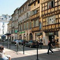 Viele Häuser sind aus dem 15. und 16. Jahrhundert