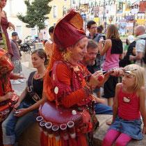 Chalon dans les rues: 4 Tage Strassenspektakel im Juli