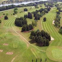 Golfplatz von Chalon-sur-Saône, 18 Löcher, 3 kompakte Löcher