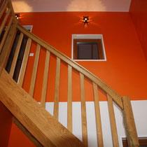 Treppe im Entrée