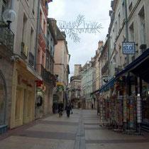 Altstadtgasse von Chalon-sur-Saône