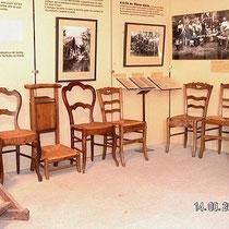 Das Haus der Stuhlmacher und -flechter in Rancy