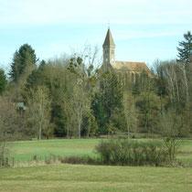 La Chapelle-Thècle liegt ein wenig erhöht