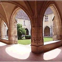 Wandelgänge des Klosters Brou
