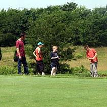 Golfplatz von Givallois in Bourbon-Lancy, 7 Löcher