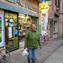 Beim Einkauf in Romenay