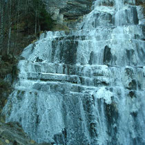 Cascades d^Herrison im Jura