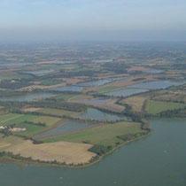 Seenlandschaft Les Dombes, im Süden