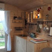 Die kleine Küche...
