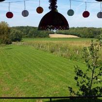 Blick vom Balkon Richtung Westen