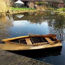 Das Faltboot hat sich doch noch bewährt