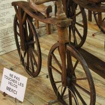 In Tournus steht ein Fahrradmuseum