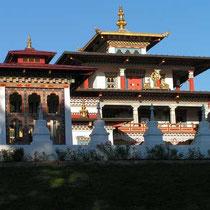 Le temple des Mille Bhouddas
