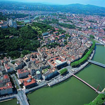 Lyon an der Rhône