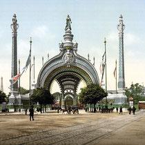 Eingang zur Weltausstellung 1900