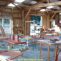 """Der """"Diverti-Parc"""" bietet Riesnspiele und Labyrinthe"""