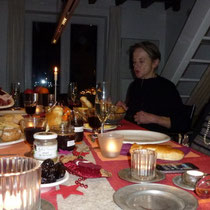 Adventsessen bei Barbara
