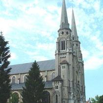 La basilique de Bourg-en-Bresse