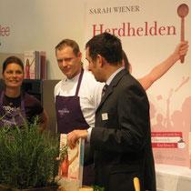 Sarah Wiener und ihr Küchenchef