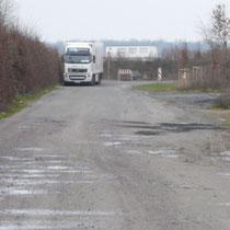 Sonntag, 06.01.2013, Nordring ohne Fahrbahnverengung