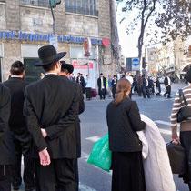 In einem orthodox-jüdischen Stadtviertel