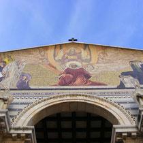 """Die """"Kirche der Nationen"""" im Garten Gethsemane"""
