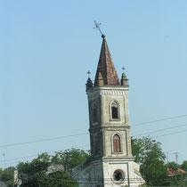 Alte katholische Kirche im Donaudelta