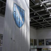 Die erste Flagge des Staates: Im kleinen Museum im Westen der Stadt kann man die bewegende Geschichte der grausamen Belagerung Sarajevos nachvollziehen.