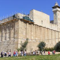 Die Abrahamsmoschee in Hebron