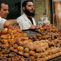 Der jüdische Markt in der Jerusalemer Neustadt