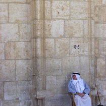 Vor der Al-Aqsa-Moschee