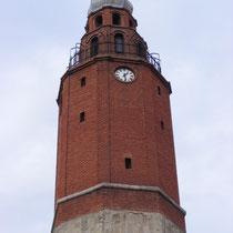 Glockenturm in Skopje.