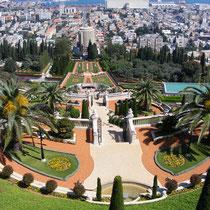 Die Bahá'i-Gärten in Haifa