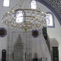 Eine der vielen Moscheen in der heute größtenteils orthodoxen Hauptstadt Mazedoniens.