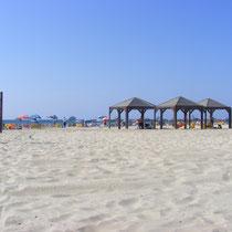 Der Strand von Tel Aviv