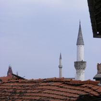 Panorama von Skopje